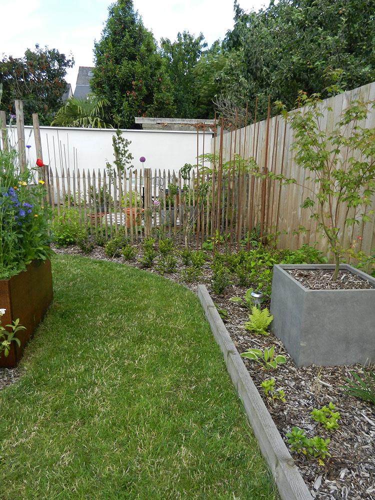 jardin de ville rennes paysagiste les jardins d 39 hortense. Black Bedroom Furniture Sets. Home Design Ideas